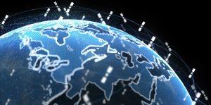 Satellitter i kredsløb om jordkloden