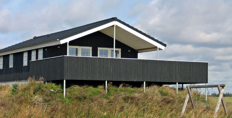 Nyt dansk sommerhus beliggende ved den jyske vestkyst