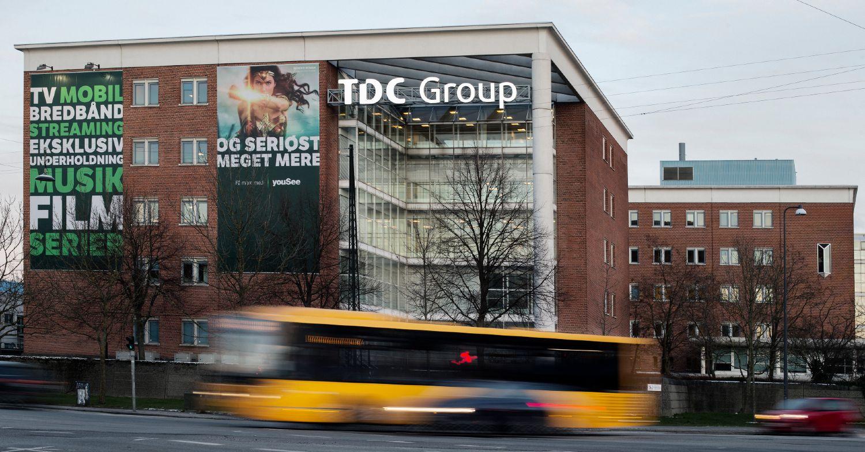 TDC Groups hovedkontor på Teglholmen, København