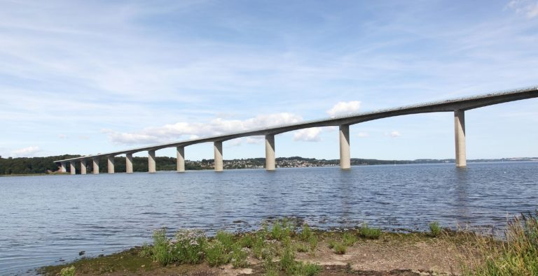 Motorvejsbroen over Vejle Fjord