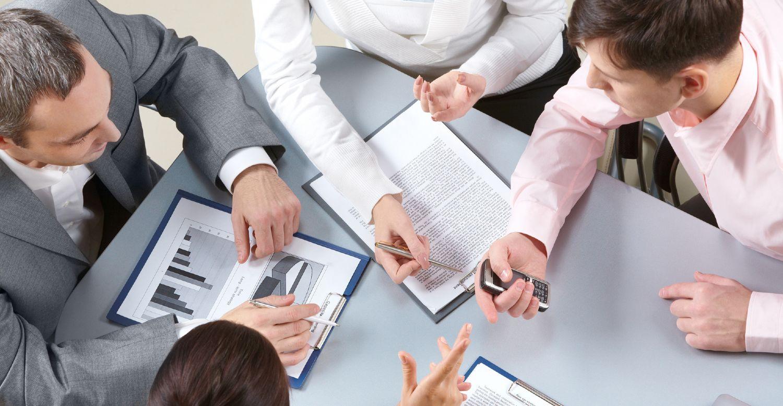 Forhandlinger ved et bord