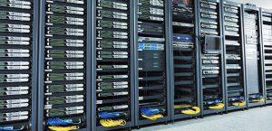 Stor datacenter til webhoteller