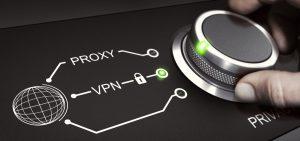 Drejeknap drejes til VPN-indstilling
